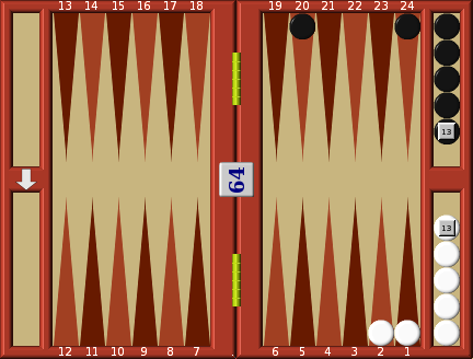 Backgammon Arithmetic of the double