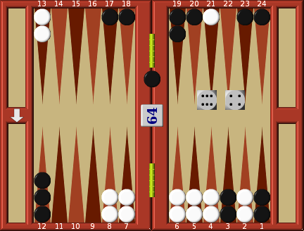 Example Back game | Backgammon Strategy