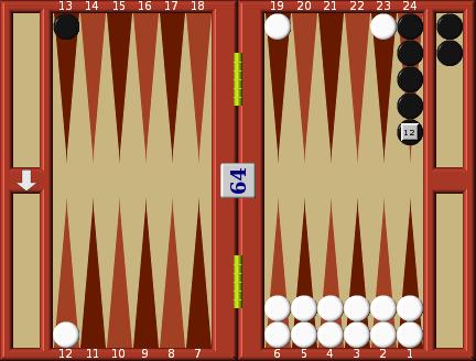 Backgammon double