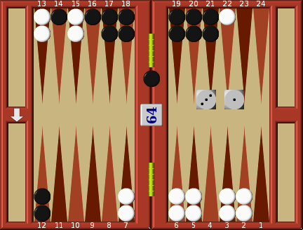 Example Positional game | Backgammon Strategy