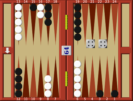 Backgammon Responses to the opening move
