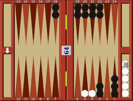 Backgammon Rules of movement